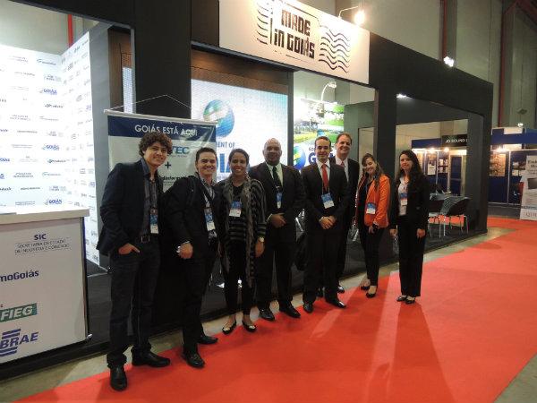 Representantes da Secretaria de Indústria e Comércio, Sindinformática, FIEG e Digital Solutions
